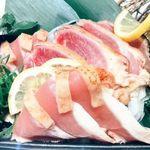 名古屋コーチン 個室居酒屋 杏 - 地鶏のたたき盛り合わせ(桃音コース)