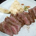 ばしゃやま亭 - 和牛あみ焼き