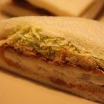 サンドイッチハウス メルヘン - おさかなサンド 336円