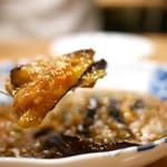九眼橋 - 料理写真:茄子の発酵唐辛子炒め