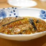 九眼橋 - 茄子の発酵唐辛子炒め