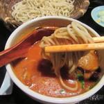 玄粋庵 KITSUNE - 蕎麦をトマト風味のつけ汁で