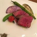 リストランテ ハナヅカ - 牛トモサンカクのグリル