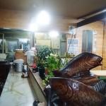 レストラン山彦 - 店内•••奥が厨房