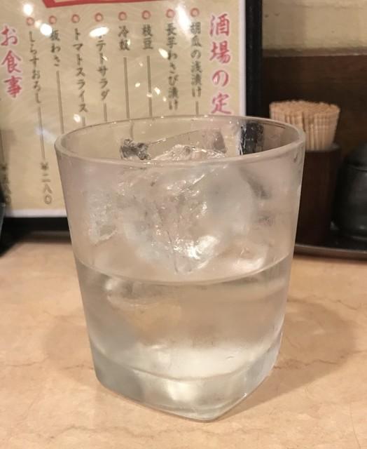 汐屋 新大阪駅店 - 芋焼酎:こくムラサキ  ¥380