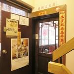 Maraoudoufu - 入口はちょっと狭くて、この手のお店に慣れてないとやや入り辛い雰囲気かもしれません