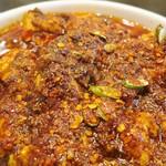 Maraoudoufu - 粗挽きの唐辛子がたっぷりといった感じの現地仕様なルックスです
