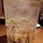 木村屋本店 - 飲み放題から南高梅酒通常580円をソーダ割