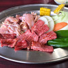 ふちがみ - 料理写真:焼肉定食=1000円 若鷄=600円