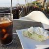 ヌーヌーカフェ - 料理写真:アイスコーヒー & アボガドチーズケーキ