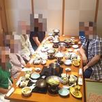 福山甲羅本店 - 家族勢揃い(2017.06.11)