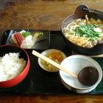 ちゃんこ 萩乃井 - ちゃんこ鍋定食
