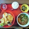れすとらん四六時中 - 料理写真:ミニ天丼と麺セット