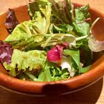 肉食燻製バル ドン・ガブリエル - ランチのサラダ