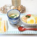 松幸 - 料理写真:フルーツサンドモーニング