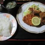 季分屋 - 料理写真:ミックスフライ1200円