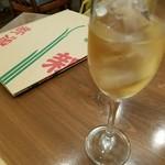 銀シャリ.カフェ - 鶴齡の梅酒