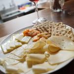 ブロカント - チーズ盛り