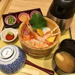 四六時中 - 海鮮にぎわいおひつご飯