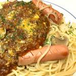 イタリアンハウス - ウィンナーミートソーススパゲティ