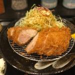 とんかつ瓢 - 料理写真:ロースカツ