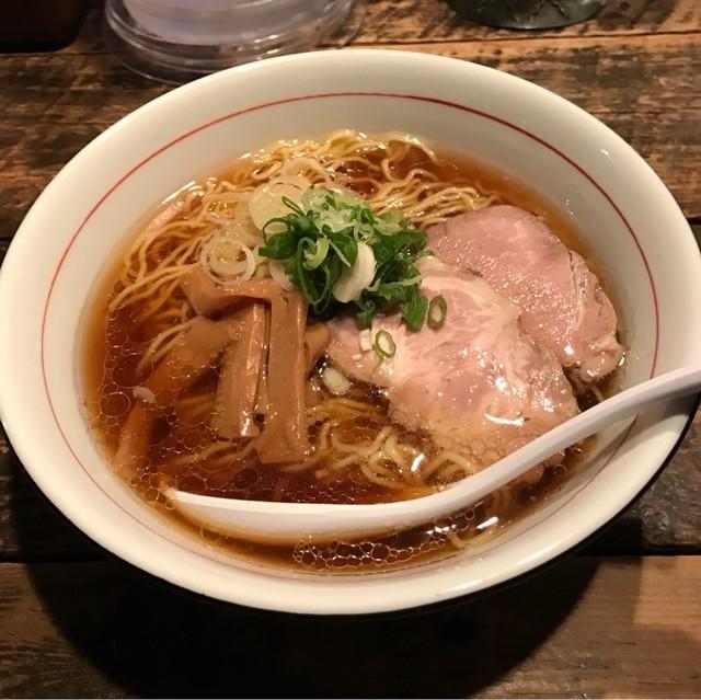フリーフローランチ - 鶏清湯 中華そば。 税込750円。 美味し。