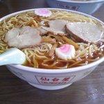 仙台屋食堂 - このボリューム感と、まさに余計なものはない、シンプルだが奥深い味!!!