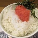 68452079 - Cセット(850円)の明太子丼