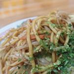 ドサン子ラーメン - 太めの麺です