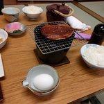 なか川 - 朝食