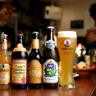 《ドイツ直輸入の生樽ビール、種類豊富ボトルビールをご用意!》