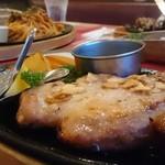 ウエストハウス - 料理写真:かぶらぎ豚ステーキ