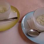 欧風懐石 勝 - リンゴとミントのシャーベット