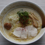 麺匠 桂邸 - 濃厚鶏白湯らーめん(塩)