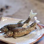 柳家 - 和良鮎塩焼き(1人2本)