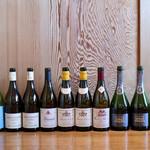 柳家 - 今回飲んだワインと日本酒