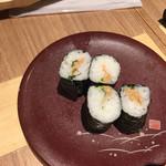 宝田水産 - 納豆巻き。これはひどい。