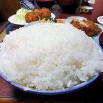 かねこ - 大盛りご飯