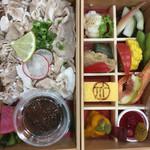 タノジ - 料理写真:八幡平ポークの冷しゃぶ重弁当