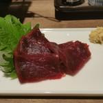 和歌山麦酒醸造所 三代目 - クジラ刺身