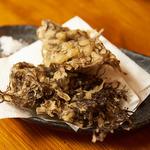 大衆食堂 山 - もずく天ぷら