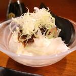 にじいろ - 肉味噌豆富