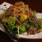 にじいろ - おつまみサラダ(ハーフ)
