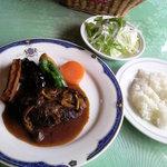 フォレスト - 料理写真:ハンバーグランチ