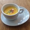 ビストロ マツシマ - 料理写真:メインランチコースから人参の冷製スープ