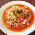KINARI - パスタ イベリコ豚とモッツァレラチーズのトマトソース