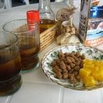 伊島観光サービス - 料理写真:お菓子&冷茶