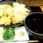 68471759 - 鶏天ざるうどん(冷)特大