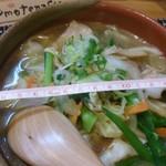 おもてなし処 こいけ - 料理写真:味噌ラーメン500円 丼の直径17cm位
