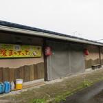鶴が亭 - 屋台の建物の横はこんな感じ(2017年5月)